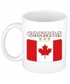Canadese vlag theebeker 300 ml