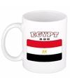 Egyptische vlag theebeker 300 ml