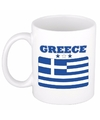 Griekse vlag theebeker 300 ml